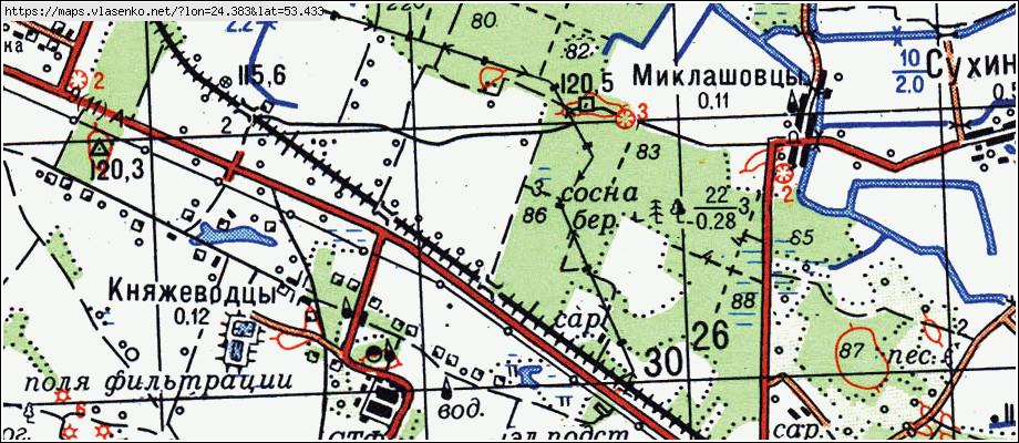 Карта ДУБНО, Гродненская область, Мостовский район: http://maps.vlasenko.net/by/grodnenskaya/mostovskij/dubno/