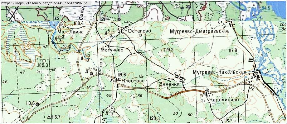 Участок: витенево (150 км по осташковскому ш, мытищинский р-н)