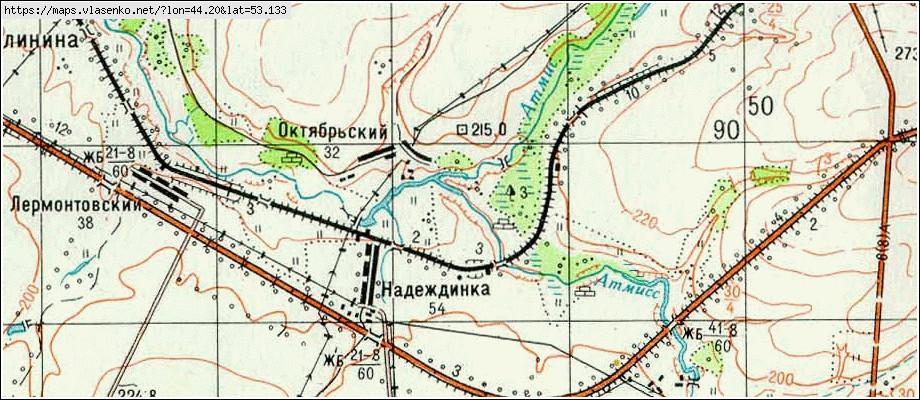 Карта каменского района пензенской области