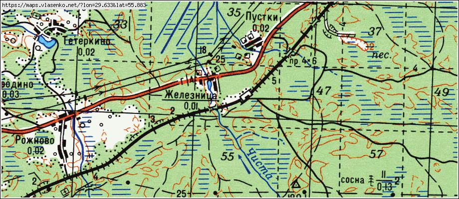 Невельского р-н псковской обл осуществляя вылет с посадкой на партизанский аэродром около