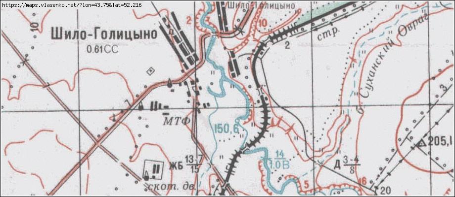 С шило на карте
