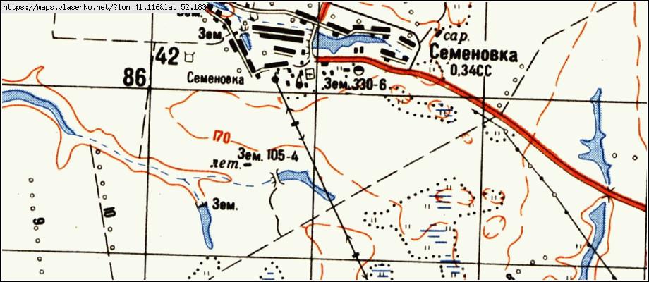 Карта СЕМЕНОВКА, Тамбовская область, Токаревский район: http://maps.vlasenko.net/ru/tambovskaya/tokarevskij/semenovka/