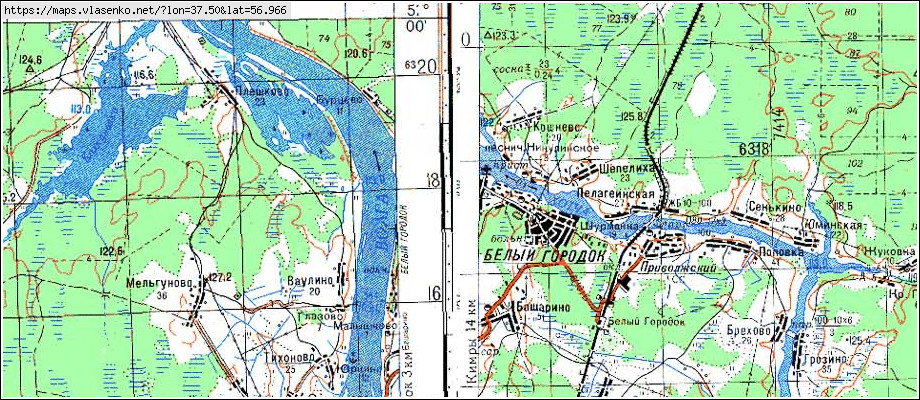 скачать топографическую карту тверской области 1 200000 - фото 7