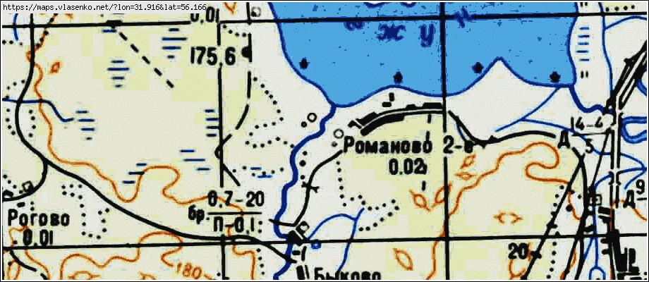Западнодвинский Район Карта