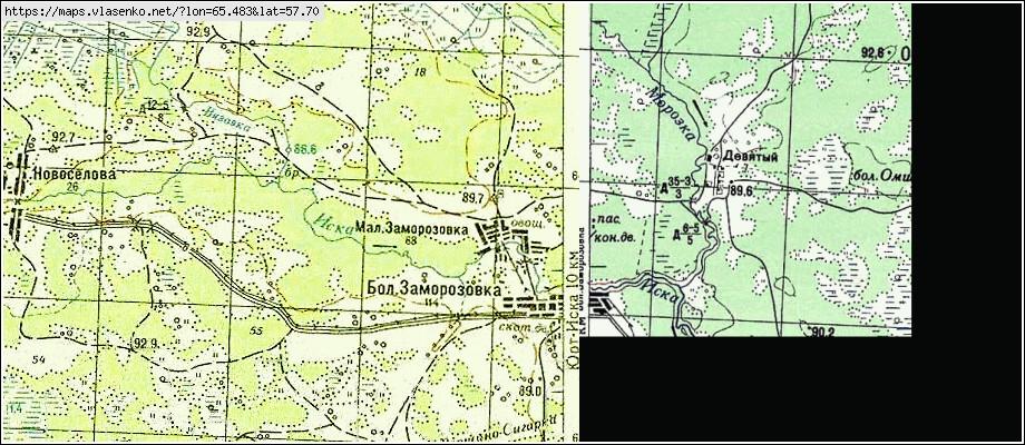 Топографическая Карта Большая Заморозовка Бесплатно