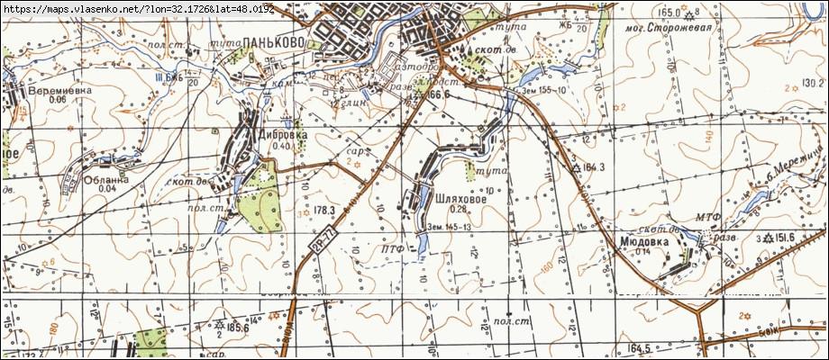 Carte de oblast de kirovohrad