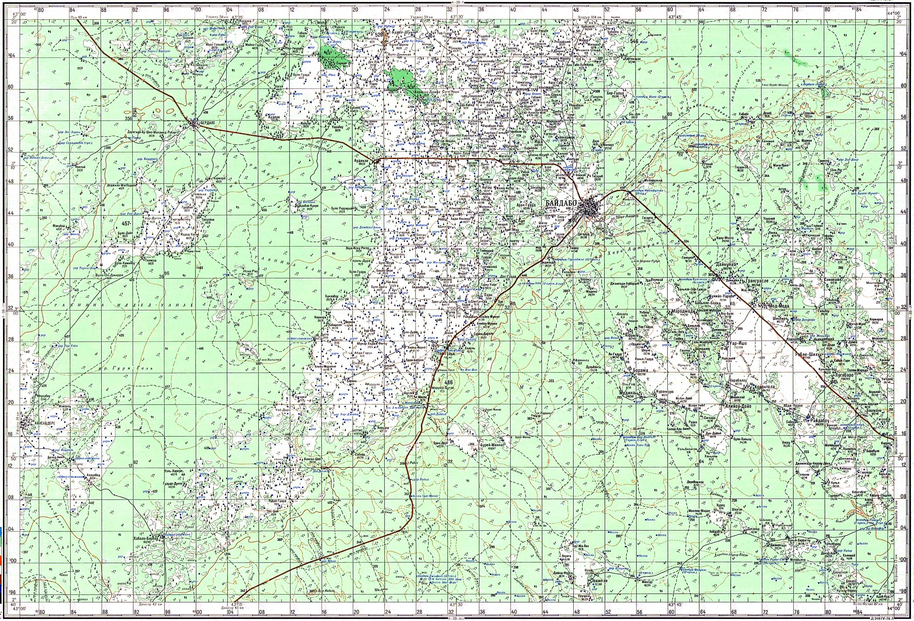 Топографические карты Military Topographic Map - Military topographic maps